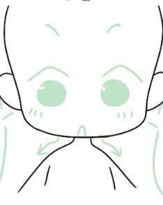 能省一步是是一步 非常适合绘画初学者的省略脖子之Q版人物画法