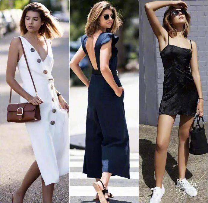 夏日怎么穿出高级感?运用素色与基本款搭配是关键