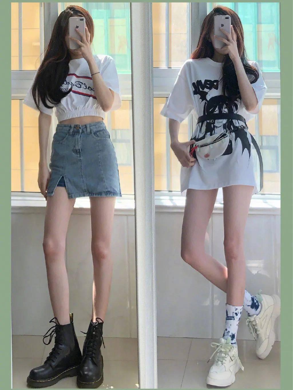 有大长腿就该秀出来!夏日高个子女生的一样平常搭配推荐,悦目又时髦
