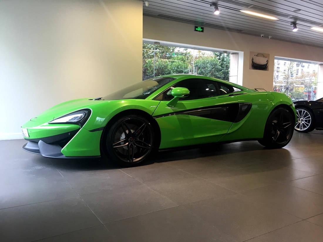 最便宜!迈凯轮540C Coupe螳螂绿,入门级跑车的新选择