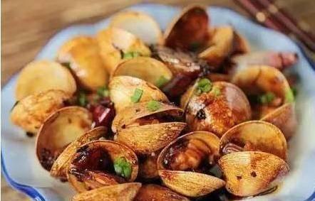 精选美食推荐 香辣爆花蛤,雪菜炒春笋,口水鱼片的做法