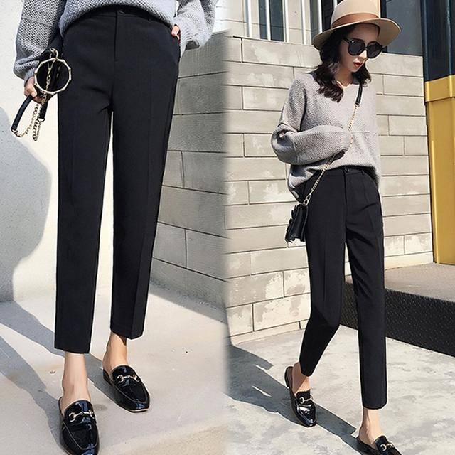原创 巨臀胖腿、梨型身材,你缺的是会整形的裤子,三大版型显瘦显腿长