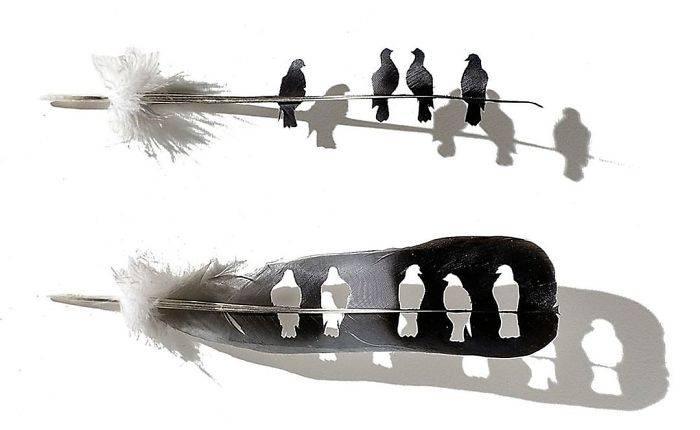 这些艺术品居然是用手术刀雕成的,你能看出来是什么吗?