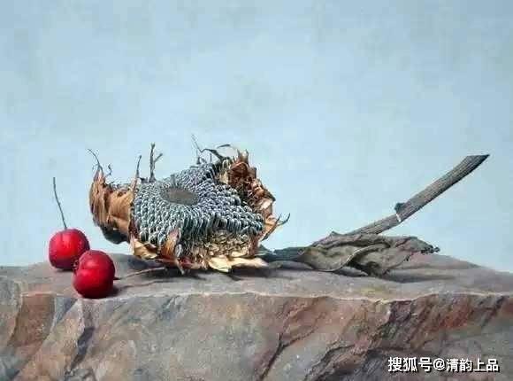 中国油画艺术欣赏——刘向东超写实静物