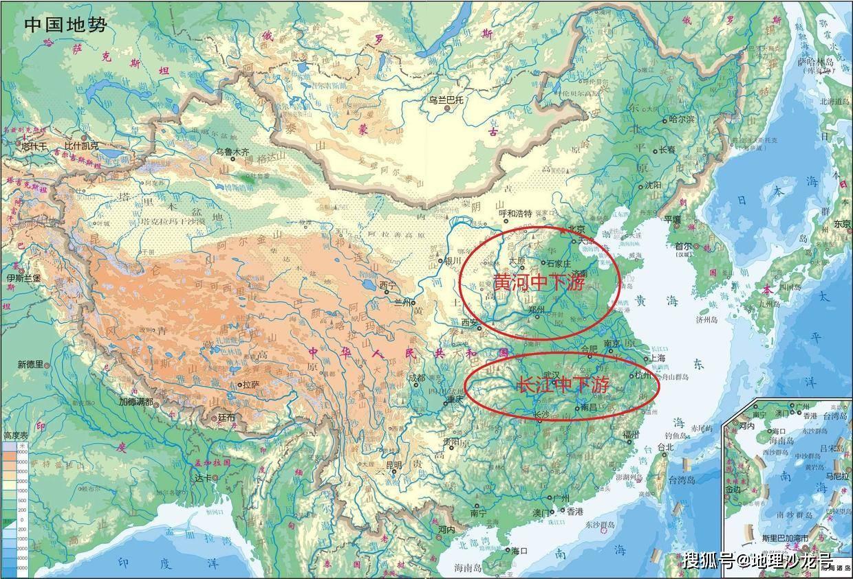 """为什么我国的""""经济重心""""最早形成在黄河流域,而不是"""