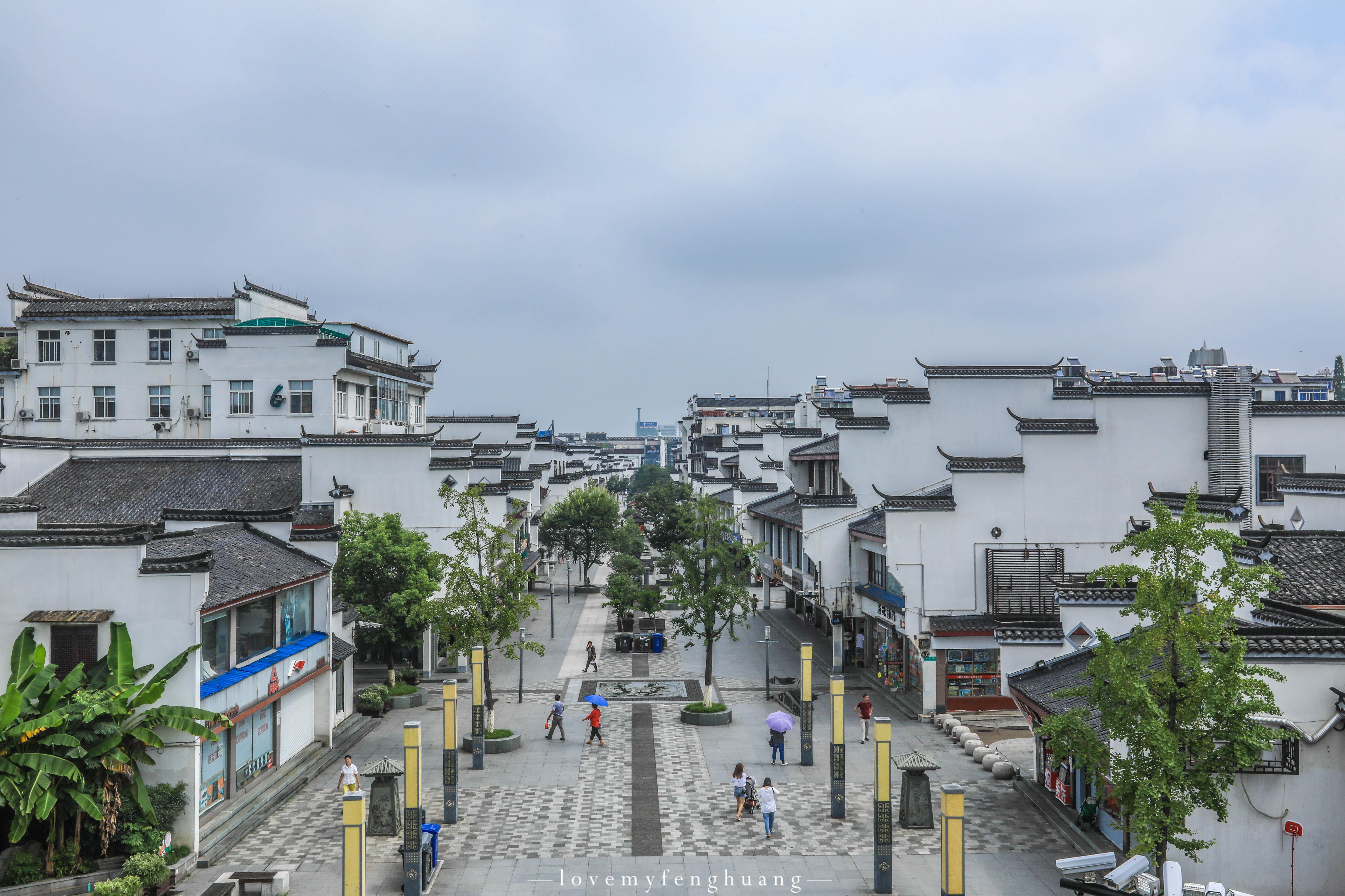 凤凰古城悠悠水畔图片
