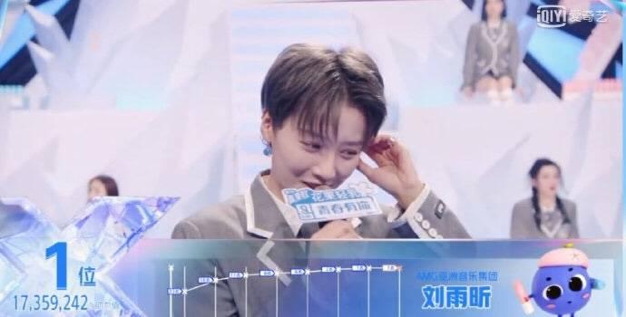《青春有你2》总决赛最终排名出炉 刘雨昕c位出道
