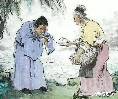 朱元璋饿晕在路边,一妇人送热汤,称帝后,朱元璋回报了她什么?