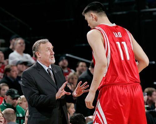 姚明和他NBA生涯的3位教练