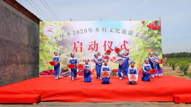 孝义市大孝堡乡2020年乡村文化旅游采摘节开幕