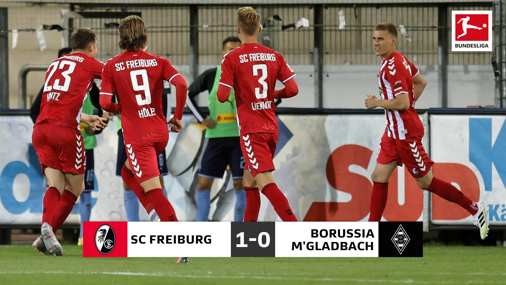 德甲-拜仁旧将一锤定音 弗赖堡1-0门兴取复赛首胜