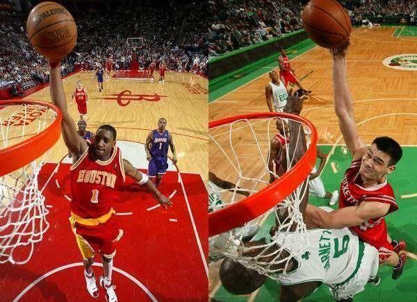 姚明为NBA效力的十年期间,他对球队的贡献是非常大的。
