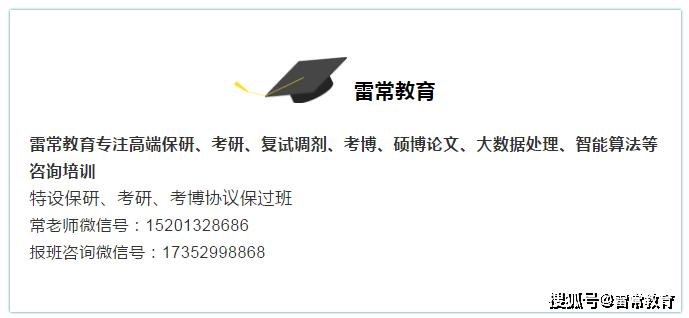 雷常教育:武汉大学法学院2020年推免/保研硕士录取名单解析