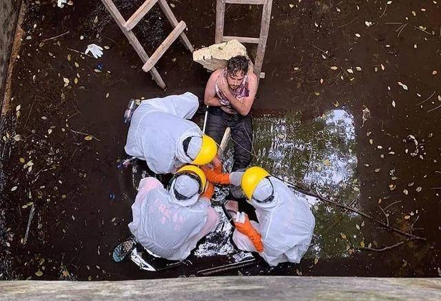 原创 英国男子被狗追赶掉入4米深井,不断呼喊求救坚持6天奇迹生还