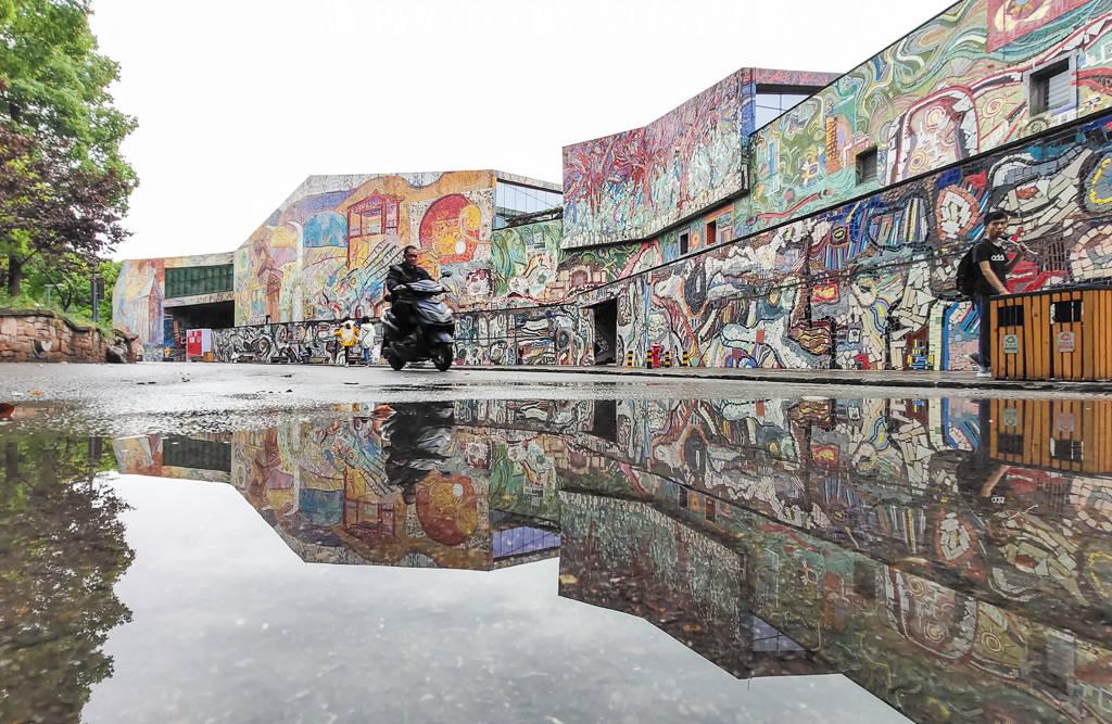 全球色彩最绚丽的美术馆,慕名打卡者络绎不绝,已成重庆文化地标