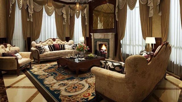 客厅选择地毯时尺寸也是必须要思量的