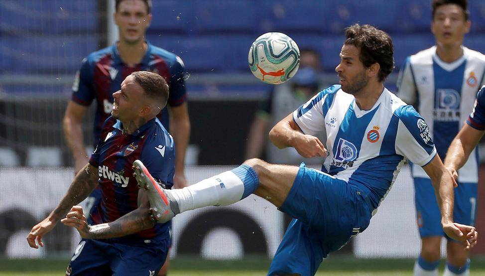 西甲-武磊首发表现平平 西班牙人1-3遭重启后首败