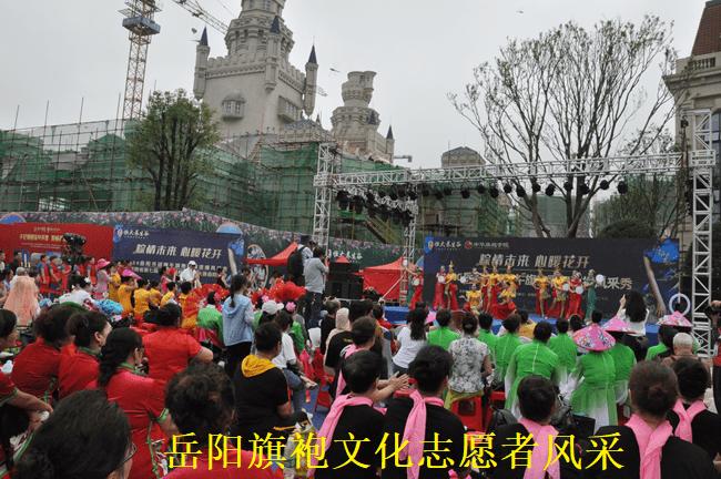 岳阳旗袍文化志愿者风采秀喜迎端午节