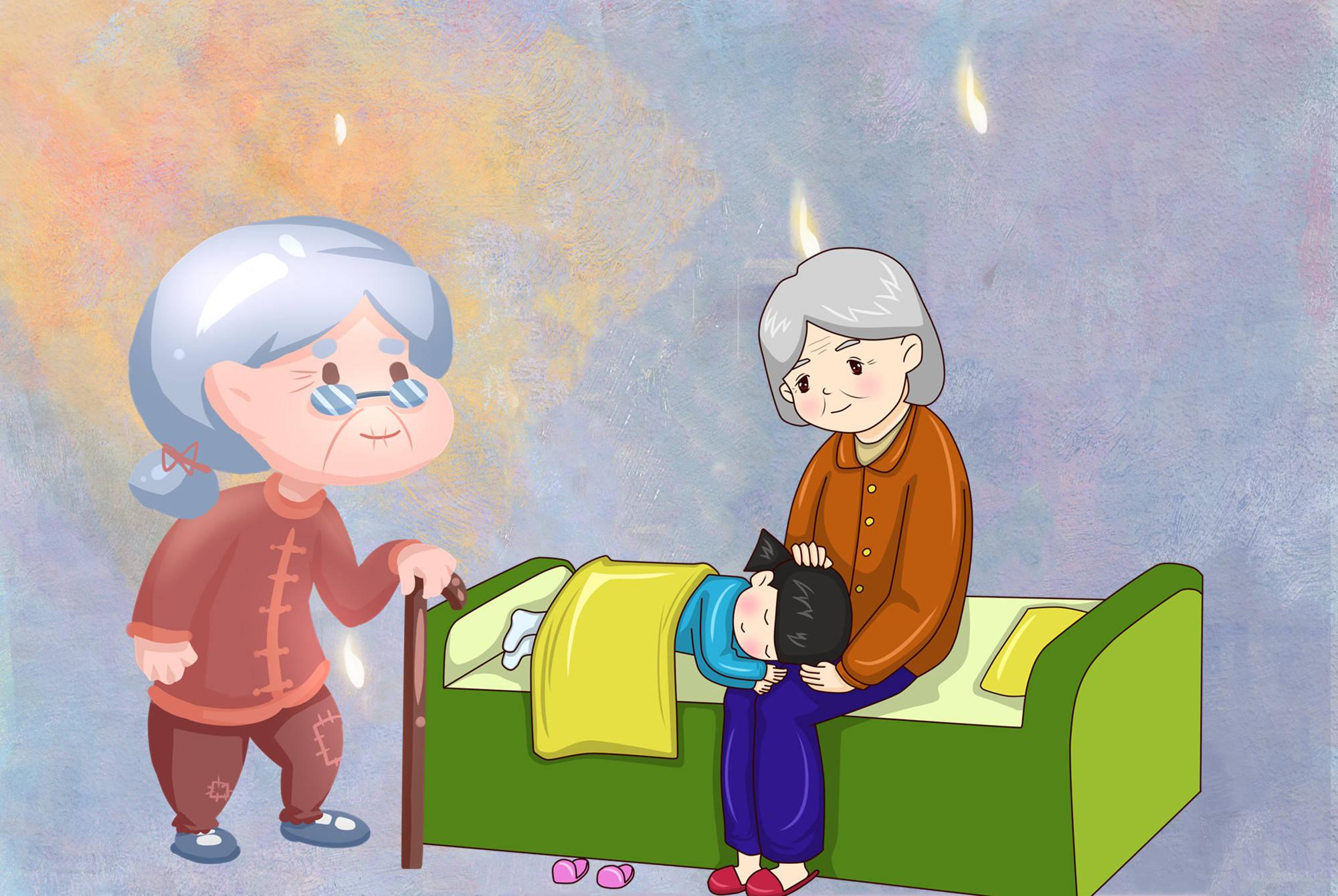 """婆婆逼问孩子""""奶奶姥姥谁更好"""",孩子的机智回答,让奶奶惭愧"""