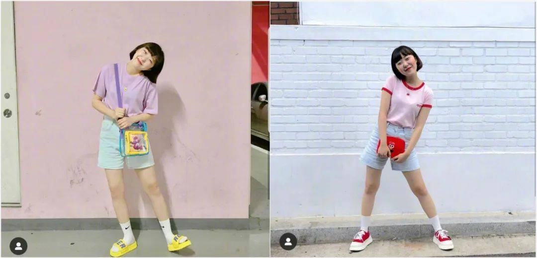 肉肉也能很可爱!微胖女孩的14套夏日清甜系穿搭示范