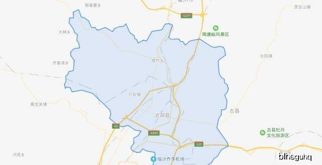 临汾各县人口_临汾各县地图