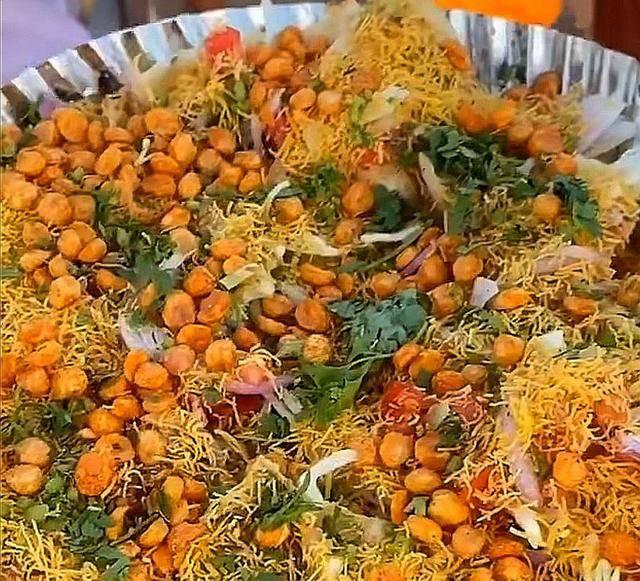 看了印度的街头美食,想不佩服都很难,网友说看完实在是受不了 增肌食谱 第10张