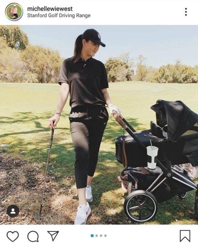 对坐月子说不 魏圣美分娩十天后带女儿开始练球