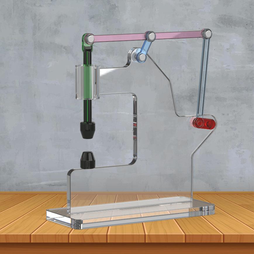 《【天富公司】用SolidWorks建模并装配:六杆曲柄动力锤》