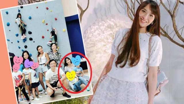 吴佩慈晒子女就读贵族学校,学费曝光,属中英双语顶级私立学校