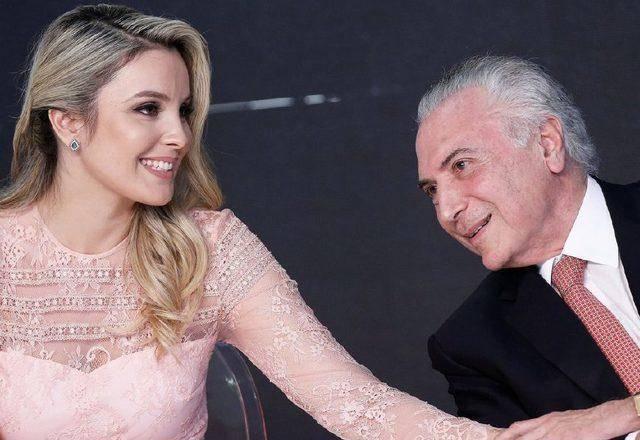 原创 前巴西第一夫人好心机,主动出击搭讪总统,选美亚军出身气质绝了