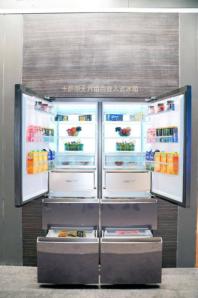 冰箱只能保鲜?看完建博会才知道,好冰箱远不止保鲜