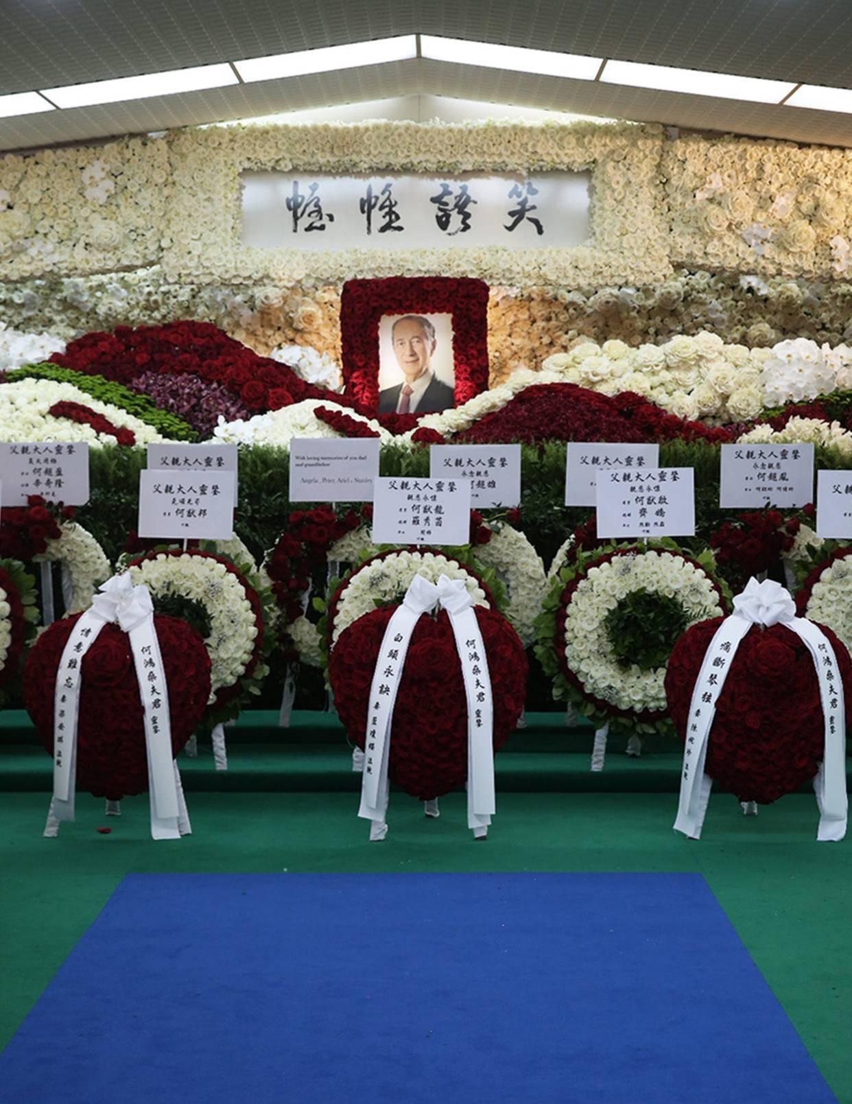 「何鸿燊」包殡仪馆举办葬礼,离不开这层关系何家风光大葬赌王