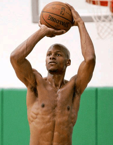 """原创             NBA这些""""瘦子""""把我们都骗了!KD有麒麟臂 欧文6块腹肌"""