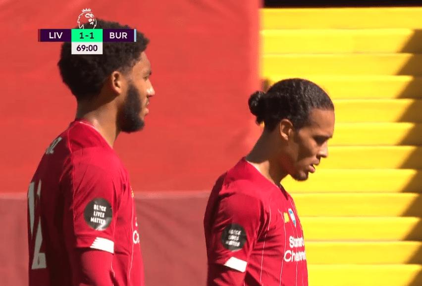 利物浦1-1被逼平,想破英超积分纪录只剩最终一条路