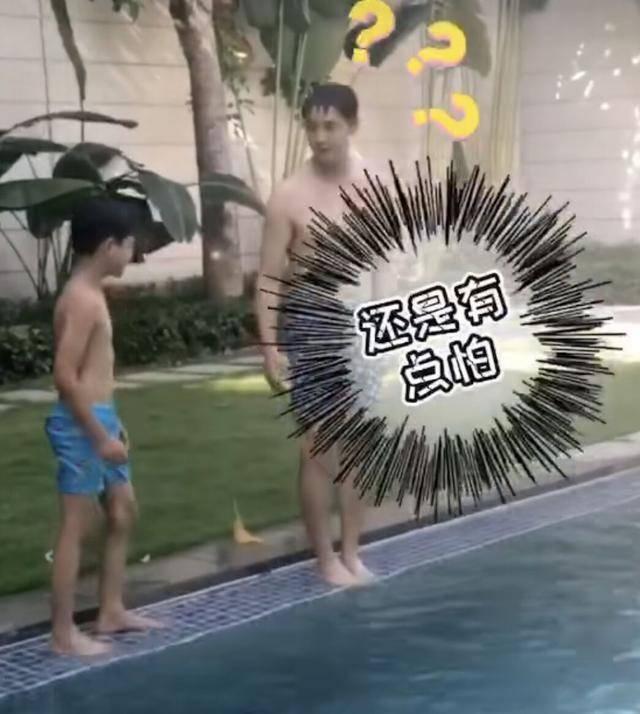 田亮教儿子跳水失败,网友支招:体育要天赋,还是娱乐圈赚钱轻松