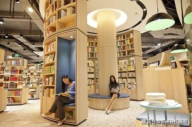 书店灯光设计 哪个是关键?