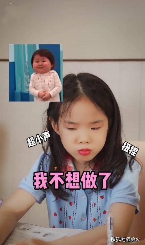 黄奕7岁女儿化妆扮成熟,小眼塌鼻子似翻版黄毅清,网友:太扎心