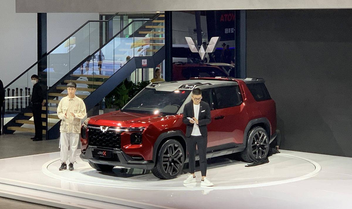 2020成都车展:五菱宏光夏概念车正式亮相