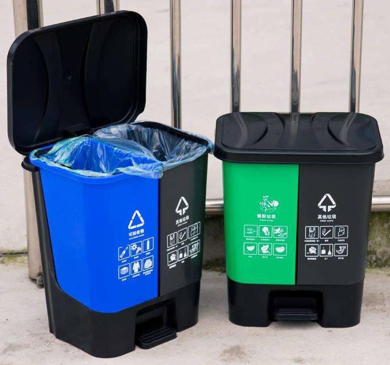 家用分类垃圾桶和户外环卫分类垃圾桶的区别(图1)