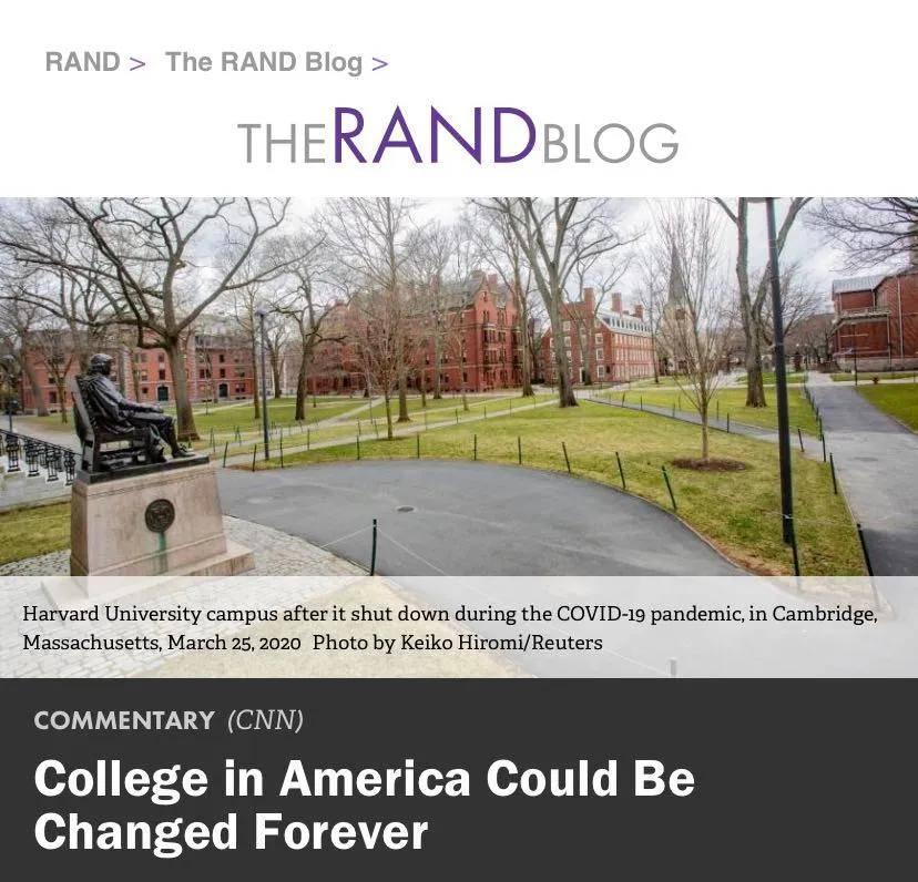 美国高校出现倒闭潮!经济学人:问题一直存在,疫情使其恶化