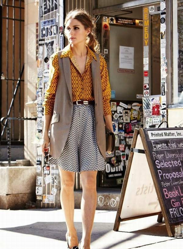 """甜腻风已经失宠了,今夏流行的是""""马甲外套"""",打造气质酷女孩"""