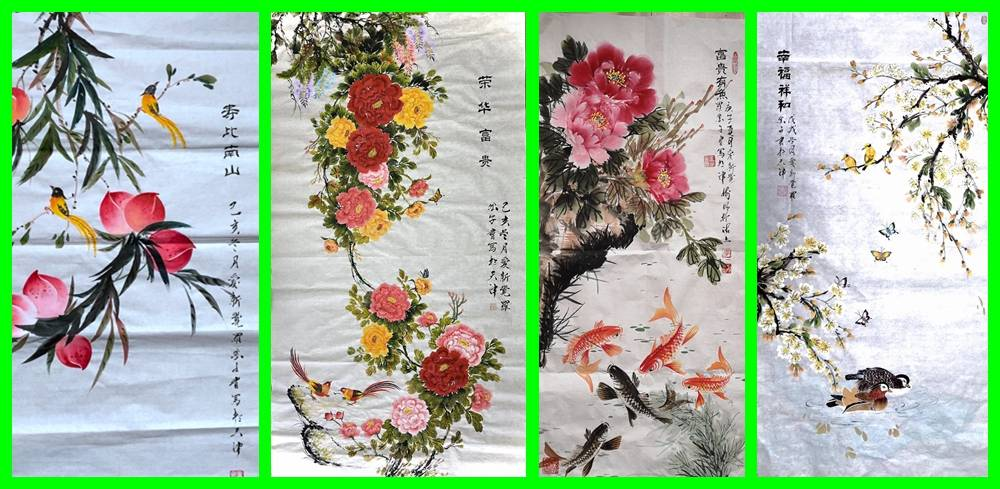 中国当代书画名家――皇室画家