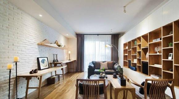 下次买房不要客厅,学她家这么装更加实用,简约新中式很上档次!