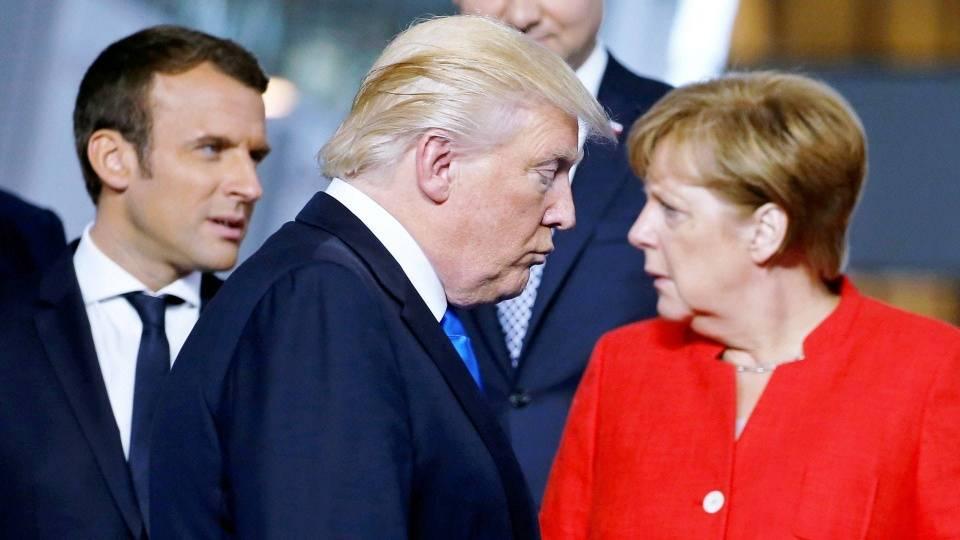 超6成欧洲人对特朗普不满:美国和德国成仇敌,却和俄罗斯成盟友_德国新闻_德国中文网