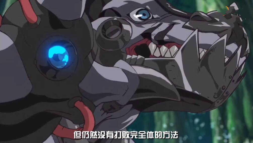 新数码宝贝10话先行:激战金属巨龙兽,暴龙兽超进化,钢铁体降临