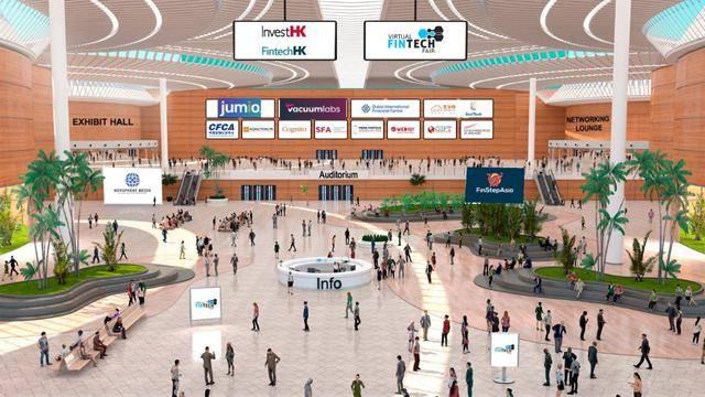 首届虚拟金融科技展上线开启酷炫体验时间