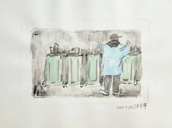 展訊|疫中瑣記·李擎手稿展2020