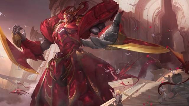 王者荣耀 墨子龙骑士造型重做特效展示 传说级品质的特效很酷炫
