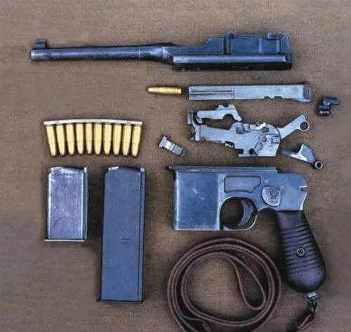 原创20响盒子炮连发射击,几秒钟能把子弹打完?