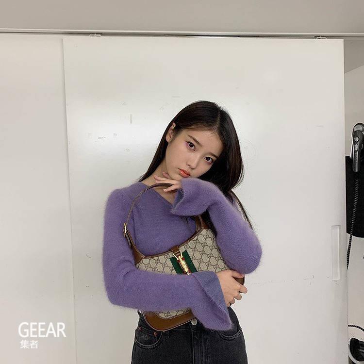 学韩国女星的私服穿搭:IU也爱不释手这5件Gucci单品!